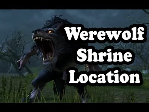 Werewolf Shrine Location in The Rift ✪ Elder Scrolls Online ESO