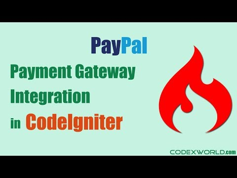 PayPal Payment Gateway Integration in CodeIgniter