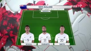 Match 6: Mexico v New Zealand -Team Lineups - FIFA Confederations Cup 2017