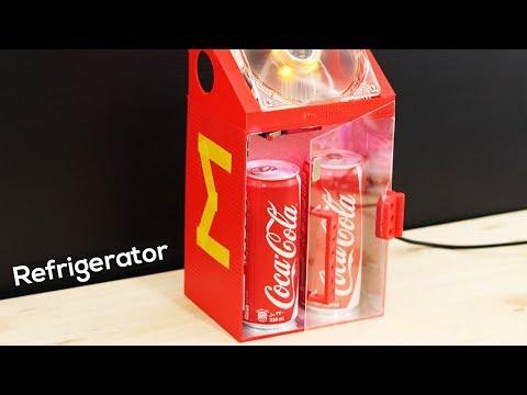 How to Make a REFRIGERATOR Model - 3D Printed DIY