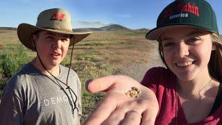 Kids find GOLD in the Nevada Desert!