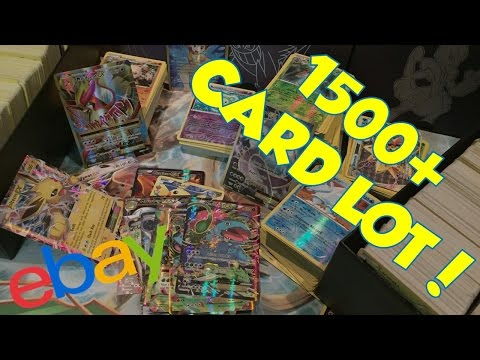 INSANE 1500+ Pokemon Card Lot from eBay | Trainer Chip