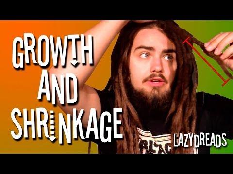 DREADLOCKS GROWTH & SHRINKAGE!