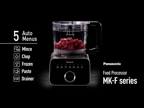 Panasonic Food Processor – 5 Auto Menus