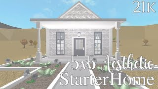 Roblox Bloxburg Rustic Starter Home