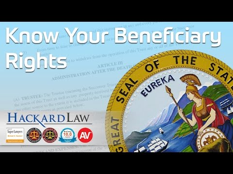 Are You a Trust Beneficiary? Know Your Rights