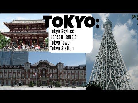Japan Trip Part 1: Tokyo Skytree, Sensoji Temple, Tokyo Tower, Tokyo Station