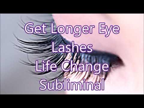 Longer Eye Lashes - Life Change Subliminal