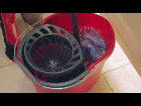 Cleanspiration: How to clean a tiled floor