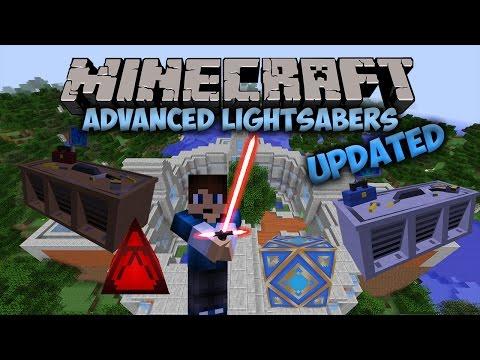 Jedi Temples!   Advanced Lightsabers Mod (UPDATED)   Minecraft Mod Showcase #15