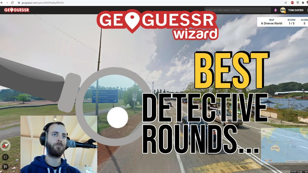 """ALL the best """"Detective Rounds"""" from my NMPZ record attempts (mostly unseen!)"""