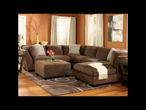 Family Rooms with Leather Sectionals Design Ideas with Furniture Pictures