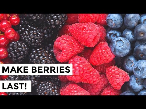 How to Keep Berries Fresher Longer - How to Wash Berries so They Last!
