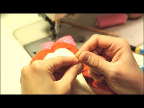 How it's made - rag dolls!