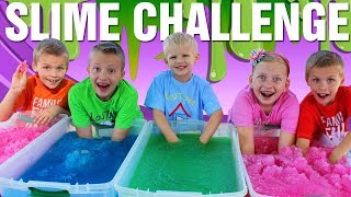 Download Gelli Baff Slime Challenge Toys & Sour Candy - Family Fun Pack Video