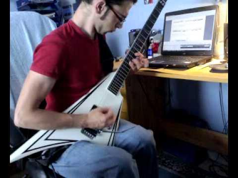 Children Of Bodom - Bastards Of Bodom Solo (Guitar Cover)