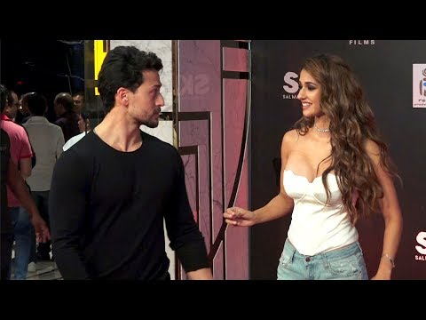 Xxx Mp4 Tiger Shroff Shows Angry Face To Disha Patani At Red Carpet Grand Premiere Of Bharat 3gp Sex