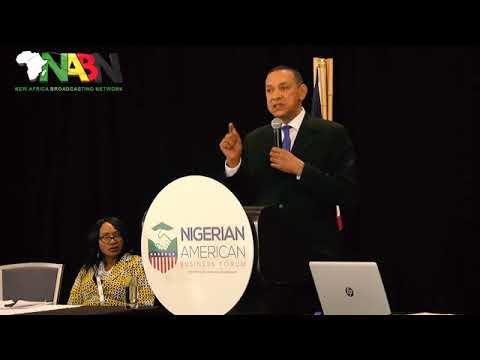 Ben Murray-Bruce Speech at Nigerian American Business Forum, Tampa.