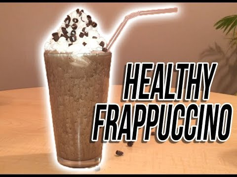 How to Make a Healthy Double Chocolate Chip Frappuccino