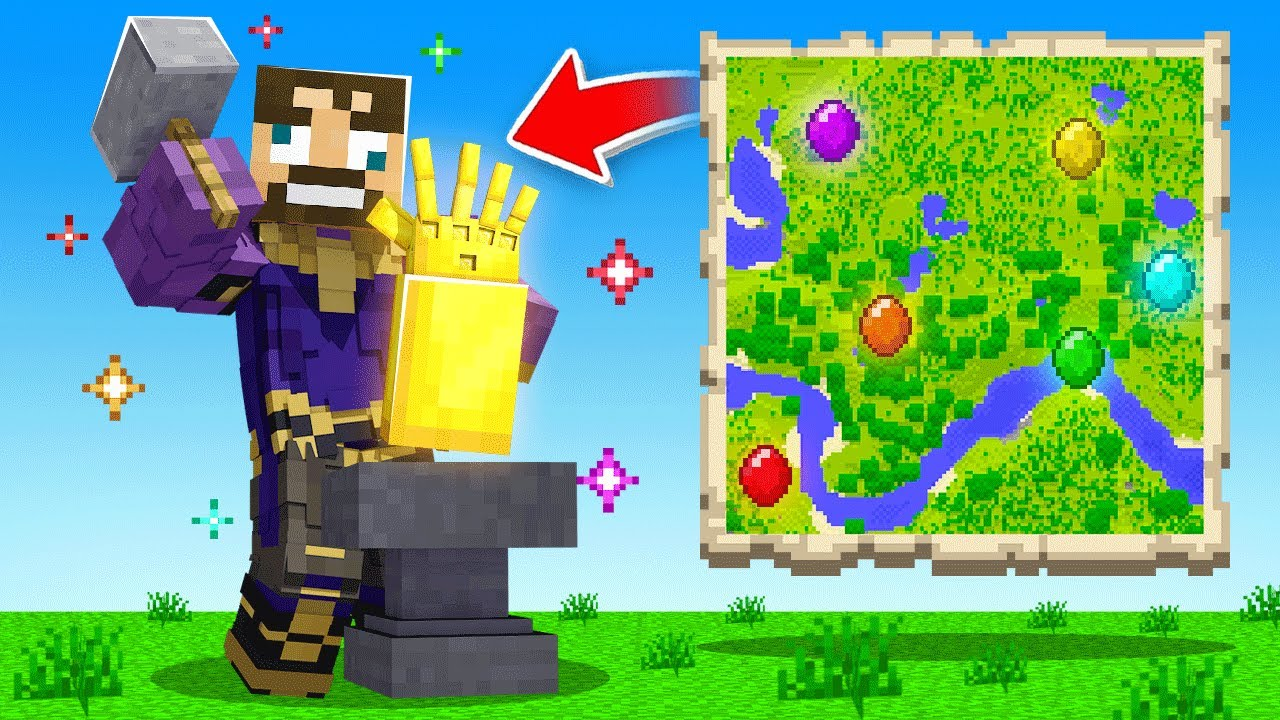 PLAYING as THANOS in Minecraft (Insane Craft)
