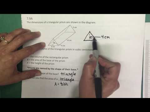 7.9A Volume of Triangular Prism