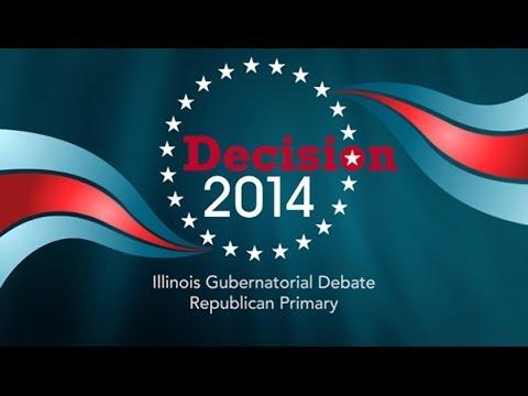 IL Republican Gubernatorial Primary Debate 2014