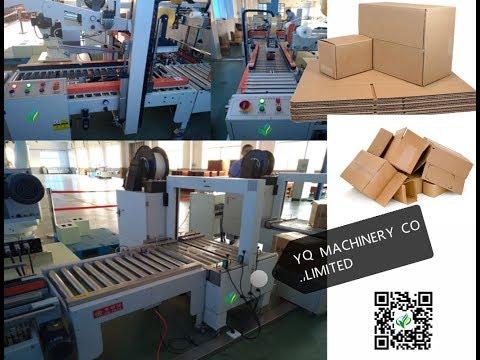 5L motor oil flat bottle drop type cartoning machine box packaging equipment lowest price