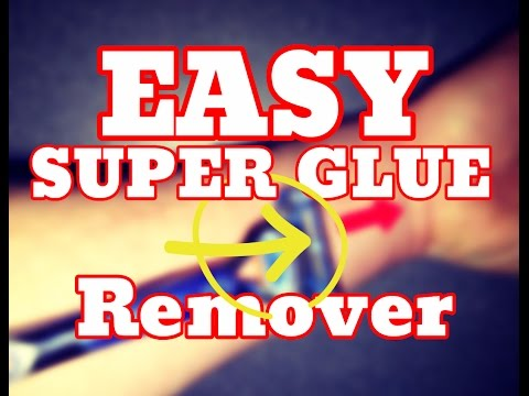 [NEW] Easy Super Glue Remover - How To Get Super Glue Off Hand Skin Fast [HD]