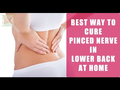 Pinched Nerve in Lower Back Treatment At Home With Hot Or Cold Therapy