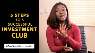 5 steps to a successful investment club [Ep- 16]
