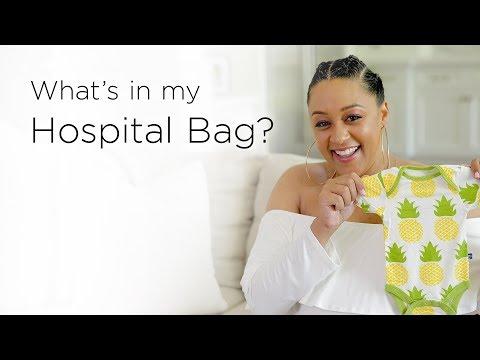 Tia Mowry's Hospital Bag Checklist | Quick Fix