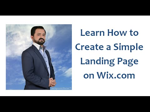 Learn How to Create Wix Landing Page