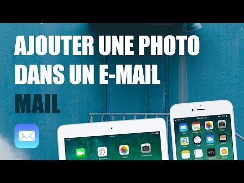 Ajouter une photo ou pièce jointe dans un e-mail sur iPhone ou iPad