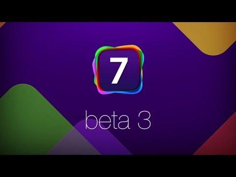 iOS 7 Beta 3: Что Нового?
