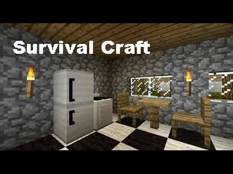 Survival Craft | How to Make a Refrigerator (working)