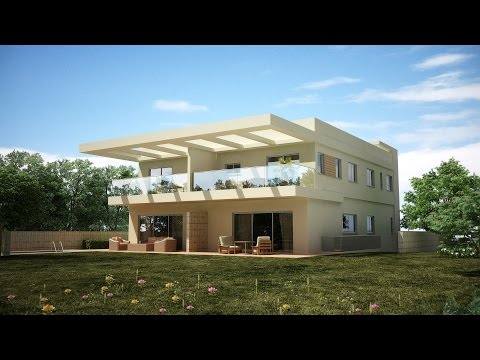 Exterior modeling in 3ds max- Part 5