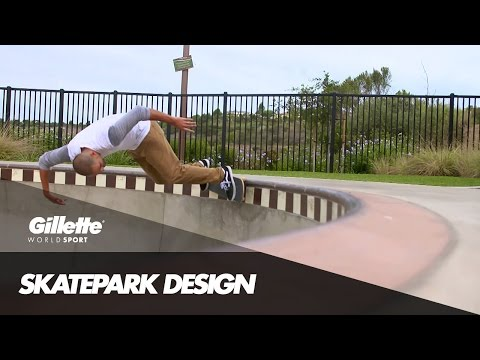 Building The Perfect Skatepark with Kanten Russell   Gillette World Sport