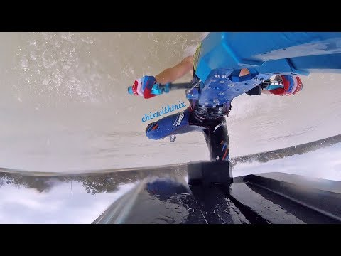 ChixSki: Krash 50 Cal Flatwater Freestyle Build - Part 16: The Stoke is High!