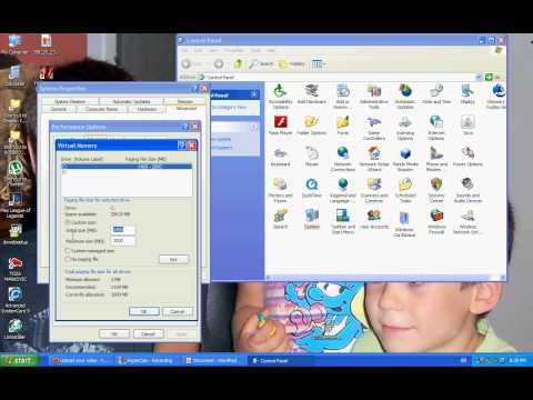 1. How to get more RAM MEMORY for free on windows xp!!!