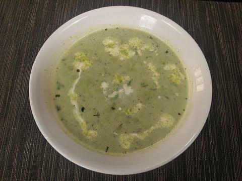 Green Peas Soup with Mint | Sanjeev Kapoor Khazana