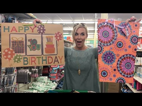 I LOVE Dollar Tree ~ Gift Bags, Bread & More ONLY $1!