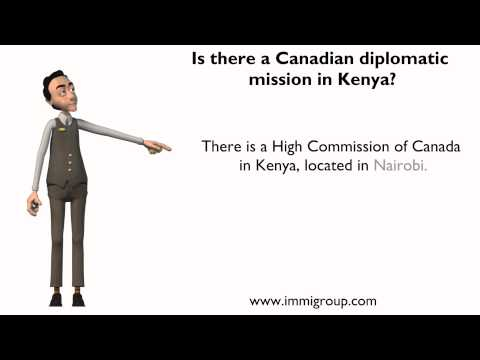 Is there a Canadian diplomatic mission in Kenya?