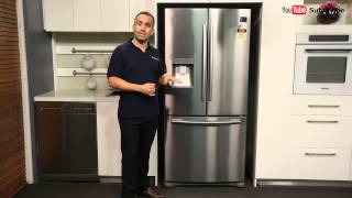 Samsung SRF583DLS 583L French Door Refrigerator reviewed by product expert - Appliances Online