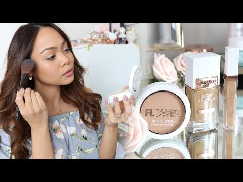 OMG! NEW FLOWER Beauty Makeup! (First Impression)