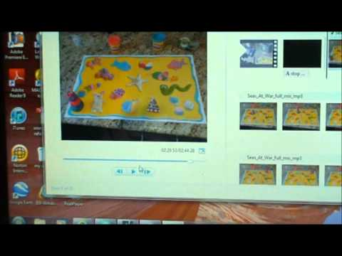 How to Make a Stop Motion Video's and Edit it in Windows Live Movie Maker
