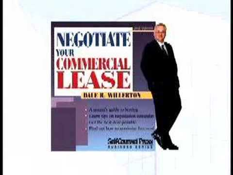 How to negotiate the best commercial lease agreement