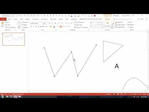 HỌC SLIDE POWERPOINT - P2 KỸ THUẬT VẼ HÌNH  - 2.10 Điểm nút tinh chỉnh Edit Point - đường cong