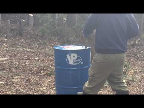 How we got the lid off our Steel Barrel   Fast Fire