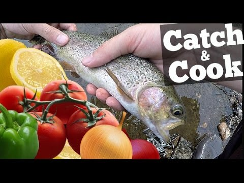 Catch and Cook - Rainbow Trout Ceviche!!