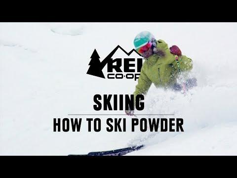 How to Ski Powder    REI